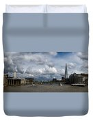 The Shard And The Thames At Southwark Duvet Cover