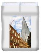 The Shard In London Duvet Cover
