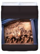 Saint Gaudens' The Shaw Memorial Duvet Cover