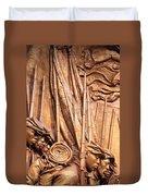 Saint Gaudens -- The Shaw Memorial's Left Side Duvet Cover