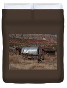 The Sheep Wagon Duvet Cover