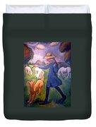 The Shepherdess Duvet Cover