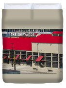 The Shipyards In Vancouver Duvet Cover