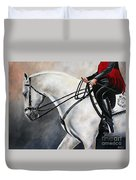 The Show Horse Stride Duvet Cover