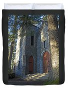 The Shrine Of St Therese Duvet Cover
