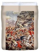 The Siege Of Delhi, 1857 Storming Duvet Cover