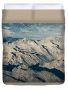 The Sierra Nevadas Duvet Cover