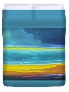 The Silent Sea Duvet Cover