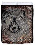 The Silver Wolf 2 Duvet Cover