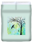 The Simple Life By Madart Duvet Cover