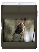 The Singing Sparrow Duvet Cover