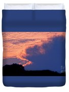 The Sky On Fire Duvet Cover
