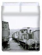 The Steam Train Duvet Cover