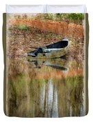 The Small Boat Photoart II Duvet Cover