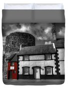 The Smallest House In Great Britain Duvet Cover