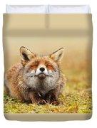 The Smiling Fox Duvet Cover