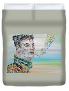 The Smoker Duvet Cover