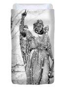 The Snow Angel Duvet Cover