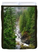 The Snowqualmie River Duvet Cover