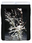 The Snowy Tree Duvet Cover