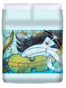 The Song Of The Mermaid Duvet Cover