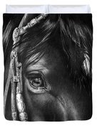 the Soul of a Horse Duvet Cover