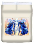 The Sounds Of Angels Duvet Cover