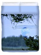 The Source Of Lake Ripples 01 Duvet Cover