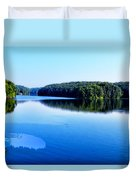 The Source Of Lake Ripples 02 Duvet Cover