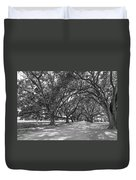 The Southern Way Bw Duvet Cover