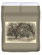 The Southern Way Sepia Duvet Cover by Steve Harrington