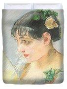 The Spanish Woman Duvet Cover