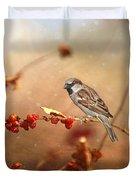 The Sparrow Duvet Cover