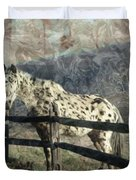 The Speckled Horse Duvet Cover