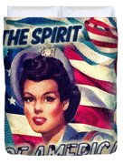 The Spirit Of America Duvet Cover