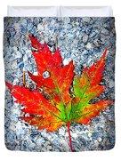 The Spirit Of Autumn Duvet Cover