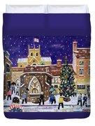 The Spirit Of Christmas Duvet Cover