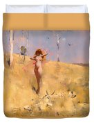 The Spirit Of The Drought Duvet Cover