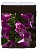 The Splendor Of Foxgloves Duvet Cover