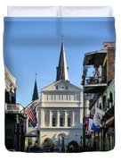 The St. Louis Cathedral Duvet Cover