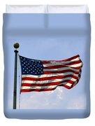 The Star Spangled Banner Duvet Cover