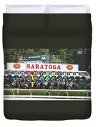 The Start At Saratoga Duvet Cover