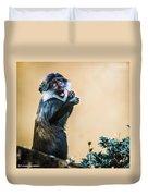 The Starving Ape Duvet Cover