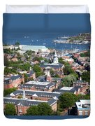 The State House Duvet Cover