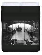 The Staten Island Ferry Duvet Cover