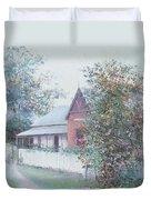 The Stationmaster's Cottage Duvet Cover