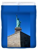 The Statue Duvet Cover