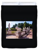 The Statues Of Archangelskoe Estate. Russia Duvet Cover