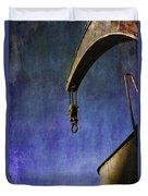 The Steam Crane Duvet Cover