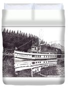 The Steamer Virginia V Duvet Cover